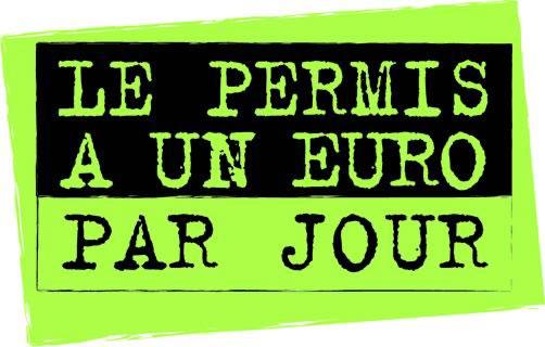 le permis a un euro par jour un pret a taux zero pour les jeunes conducteurs. Black Bedroom Furniture Sets. Home Design Ideas